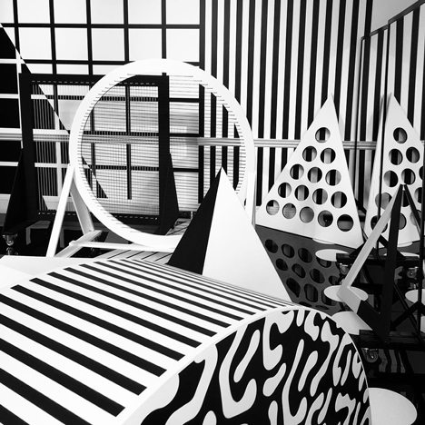 Patternity Installs Black And White Quot Playground Quot Inside
