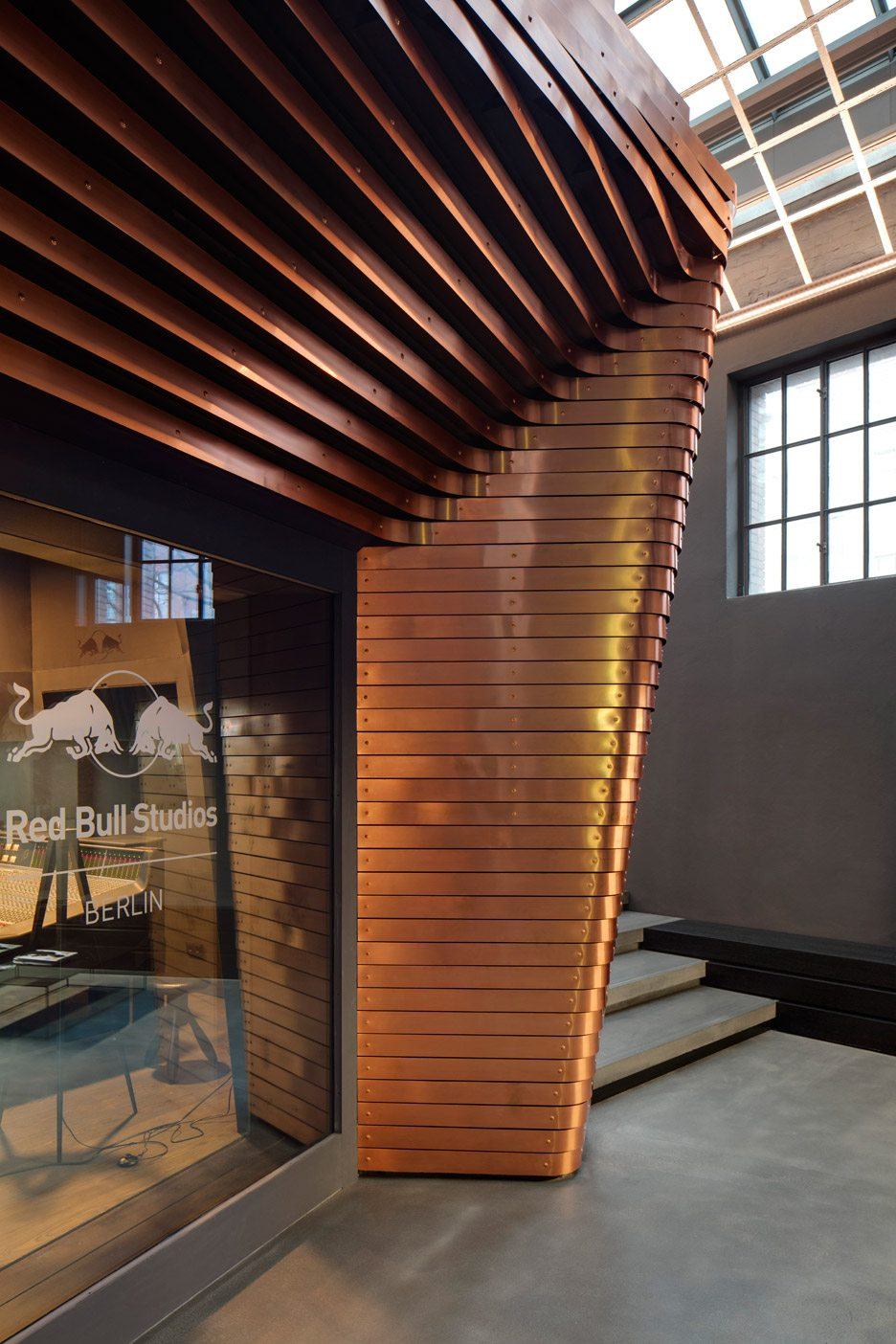 Optimist Design Creates Red Bull Music Studio Inside