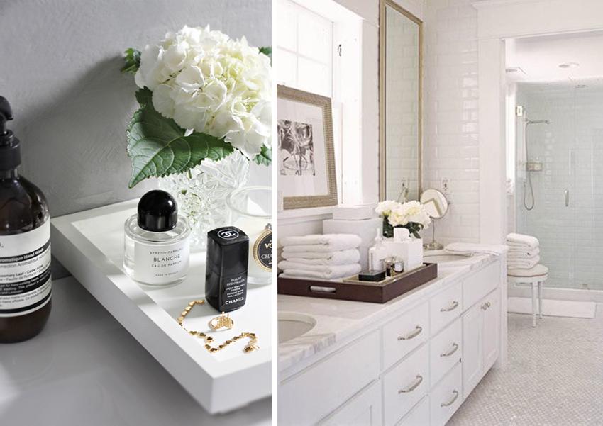 Vanity Organizer Ideas And Styling, Bathroom Tray Organizer