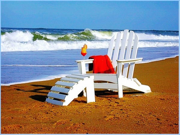 : Adirondack Chair Ottoman Design