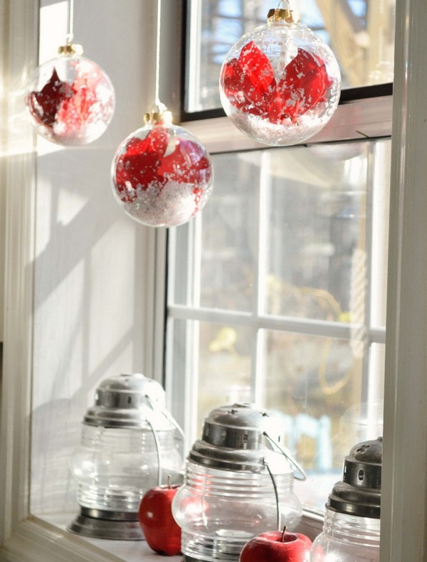 26 Windowsill Decoration Ideas: 34 Window Sill Decoration Ideas For Interior Christmas