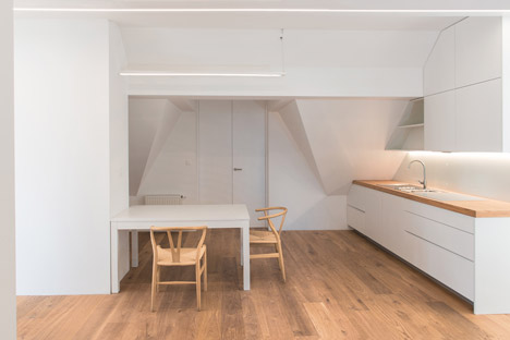 Attic Apartment by Arhitektura d.o.o.
