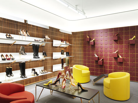Chipperfield's London flagship store for Bally