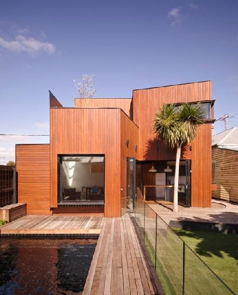 Modern Barrow House in Melbourne, Australia