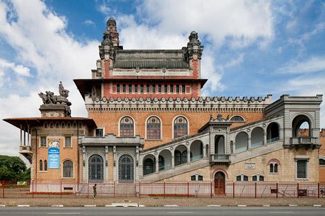 Catavento Museum, São Paulo by Lina Bo Bardi