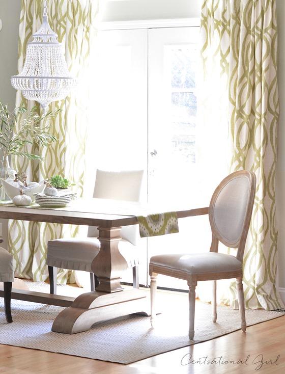 centsational girl dining room