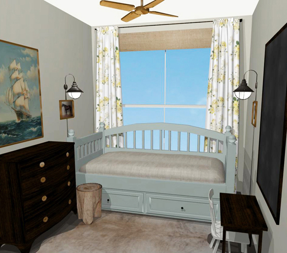 Charlotte's Room Virtual Plan