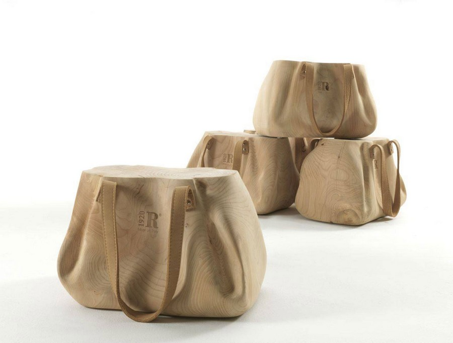 design modern chair1 Perfectly Balancing A Fresh Concept With Versatility: Mondana Bag Stool