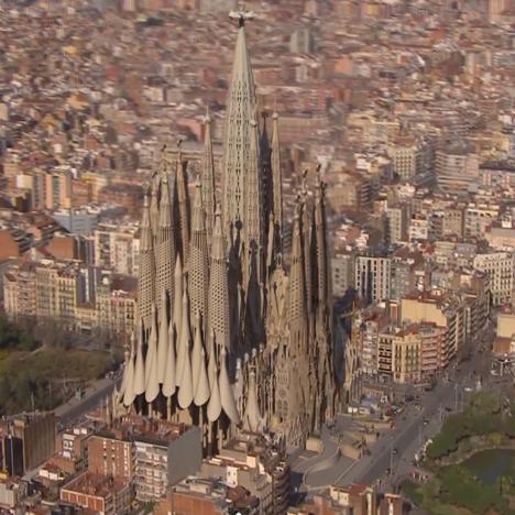 2026 completion of Gaudi's Sagrada Familia