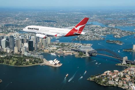 Qantas A380, designed by Marc Newson