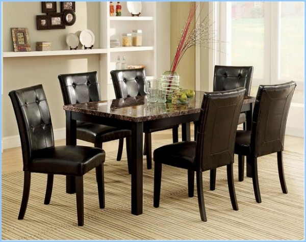 : Dining Room Tables Set With Boulder Espresso Dining Table Set Awesome