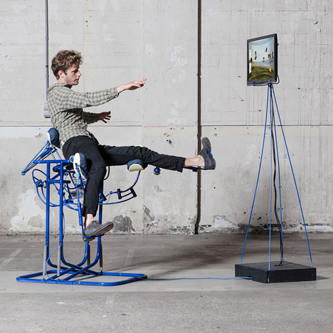 Dynamic Chair by Govert Flint