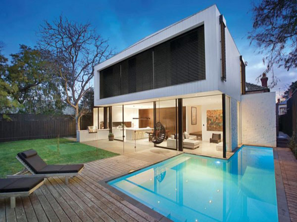 Surprising Merger: Edwardian Home and Cutting Edge Extension in Melbourne