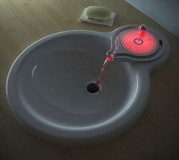 faucet led color