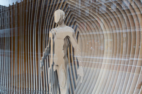 Gant's installation for RIBA's Regent Street Windows Project