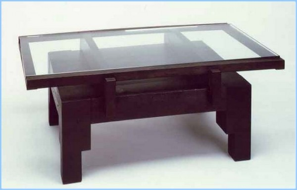 : Glass And Wood Coffee Table Design Ideas