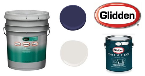glidden donated paint