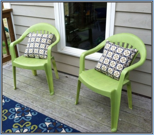 : Green Plastic Patio Chairs Nice