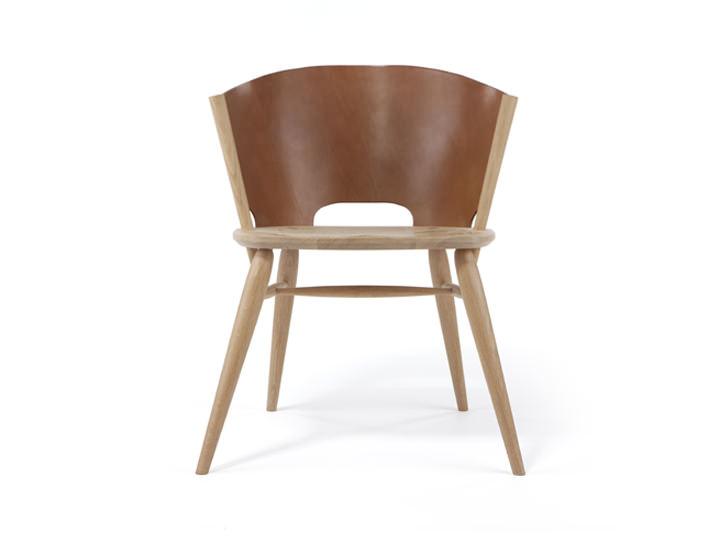 Hamylin Chair la chaise de cuir par Gareth Neal