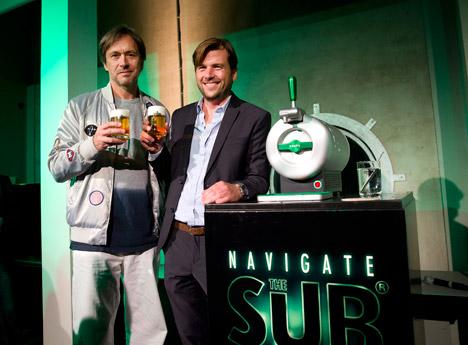 Heineken Sub by Marc Newson