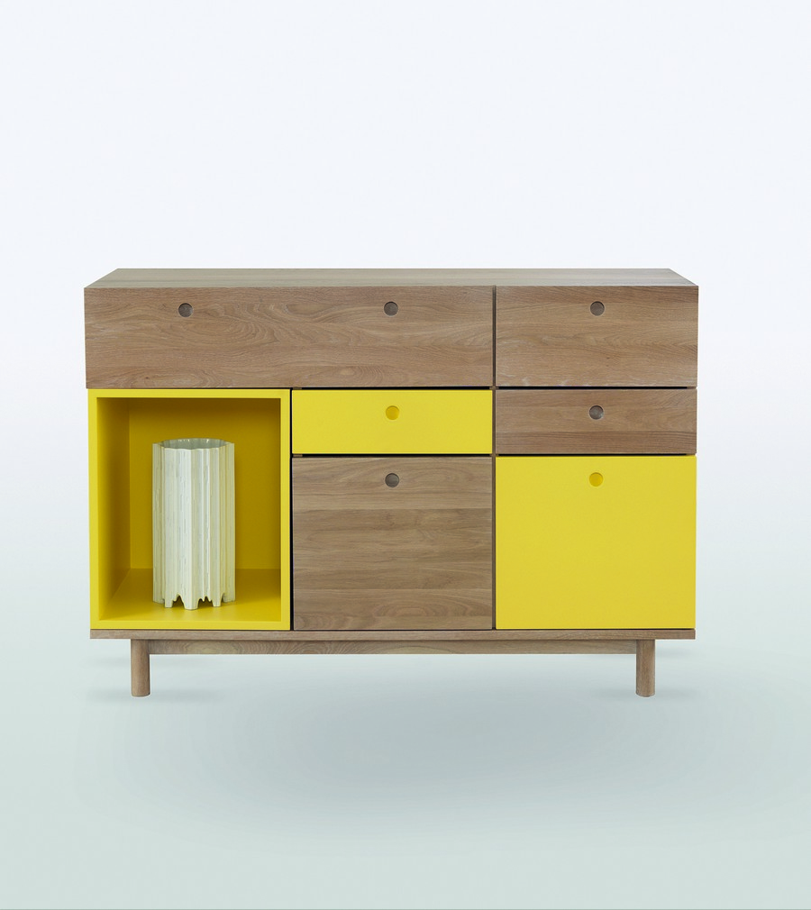 ideas design modern furniture Dynamic Details Reinforcing Originality in Contemporary Homes: Pandora Sideboard