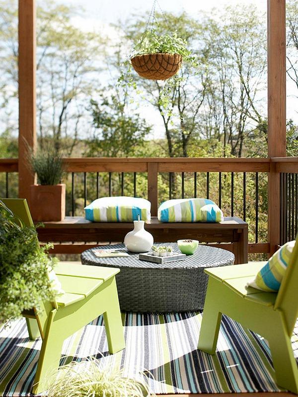 ideas for garden furniture design freshening