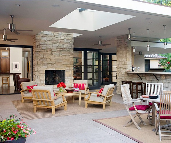 ideas for garden furniture design space split