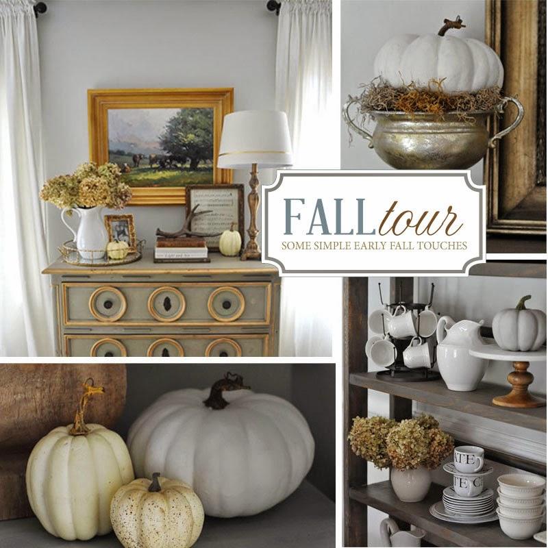 Fall Decor Ideas Canadian Bloggers Home Tour: Early Fall House Tour