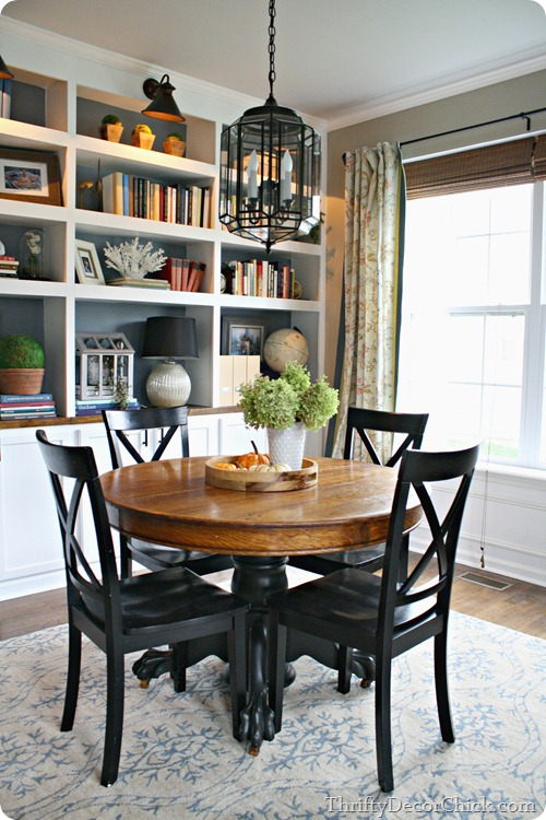 dining room DIY built ins