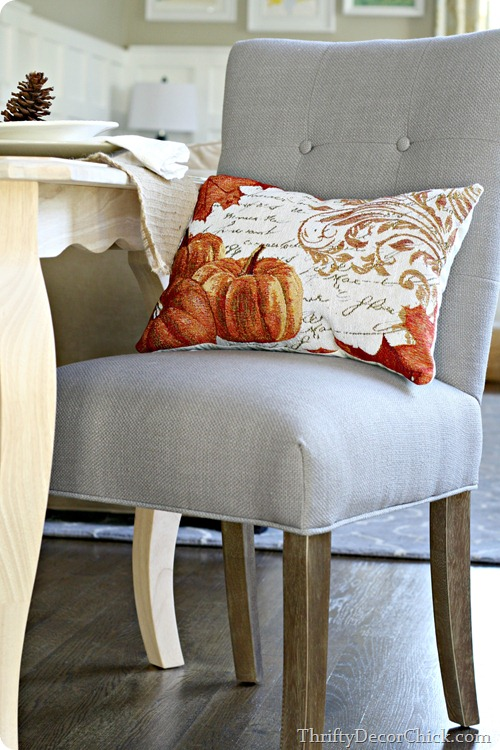 placemat pillow fall