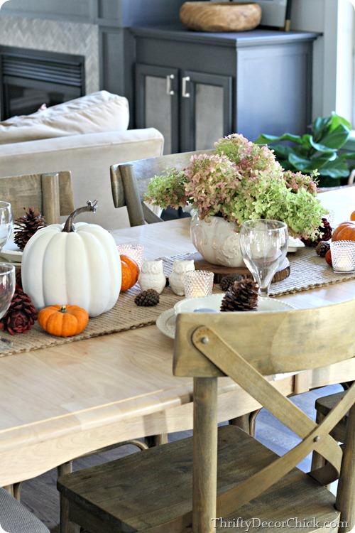 natural fall table