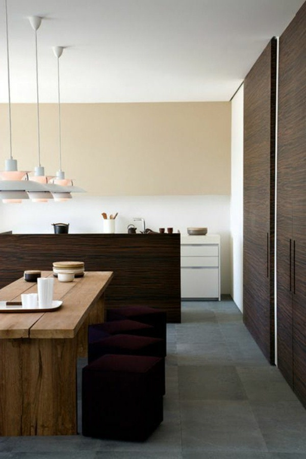 interior design dining room in Japanese style