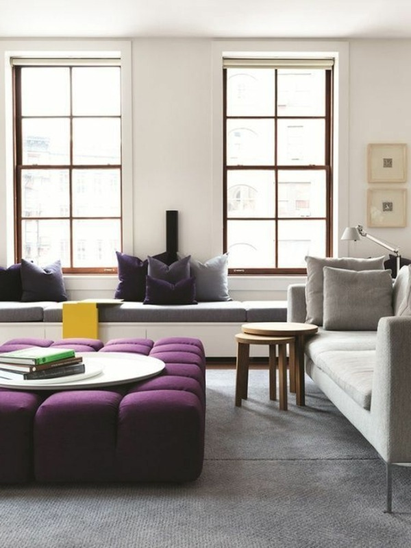 Violet Room Design: The Purple Color In The Interior