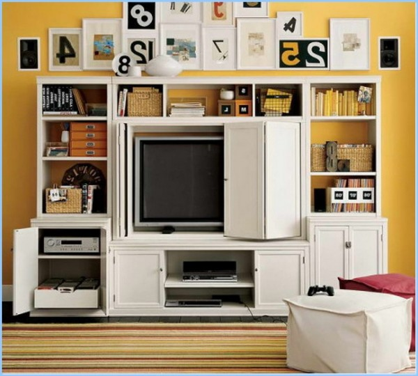 : Living Room Storage Ideas Small