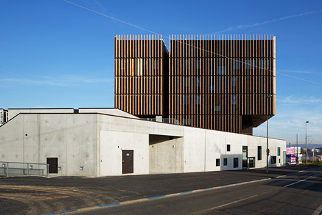 Mantois Technology Centre by Badia Berger Architectes