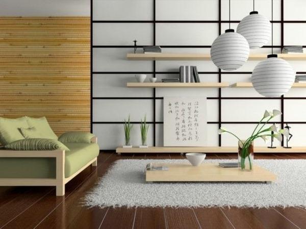 minimalist living room in Japanese STIL1