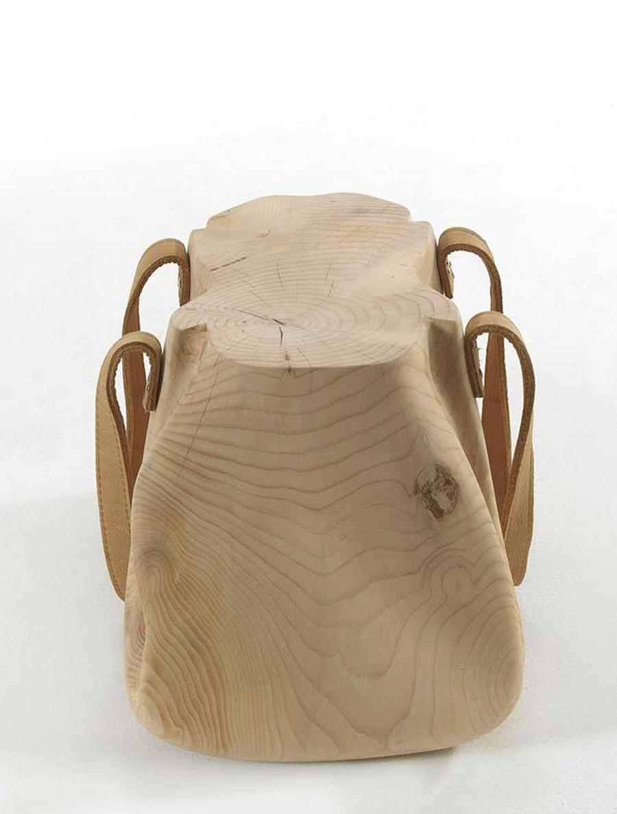 modern chair 3 Perfectly Balancing A Fresh Concept With Versatility: Mondana Bag Stool