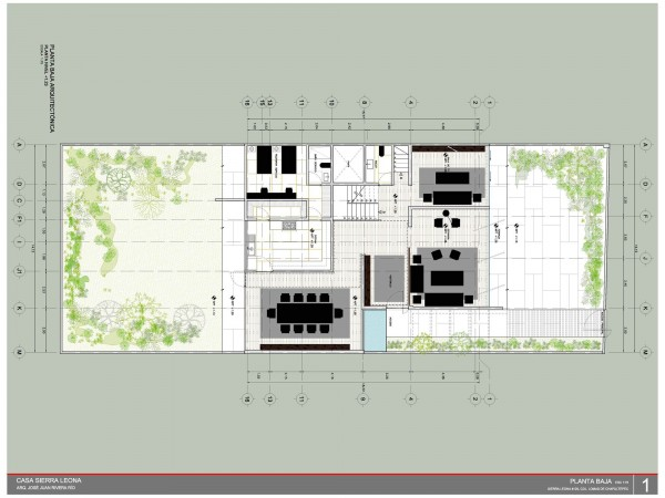 But from the floorplans, you can clearly see how each area and element has its place.