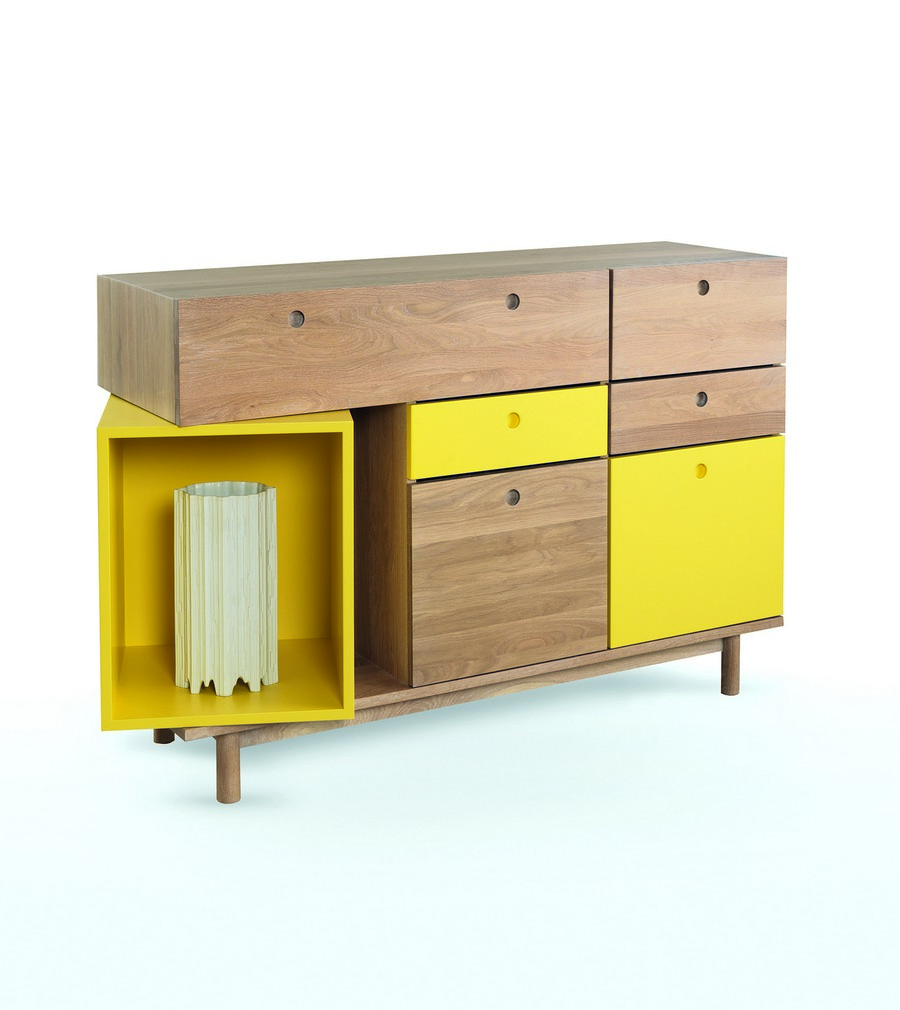 modern furniture 3 Dynamic Details Reinforcing Originality in Contemporary Homes: Pandora Sideboard