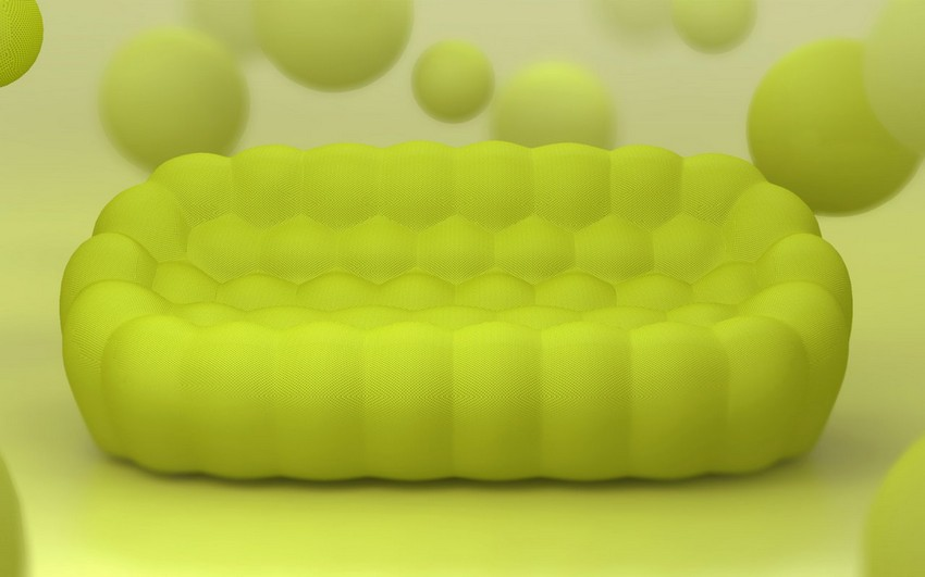 modern sofa 6 Stylish Handmade BUBBLE Sofa Inspiring Cosiness by Sacha Lakic