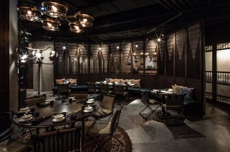 Joyce wang 39 s mott 32 restaurant is true to hong kong 39 s for Home design ideas hong kong