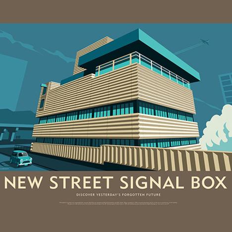 Birmingham New Street Signal Box