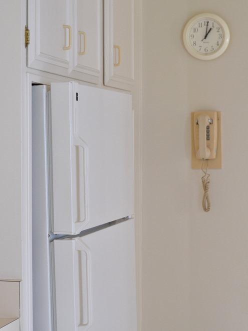 old fridge