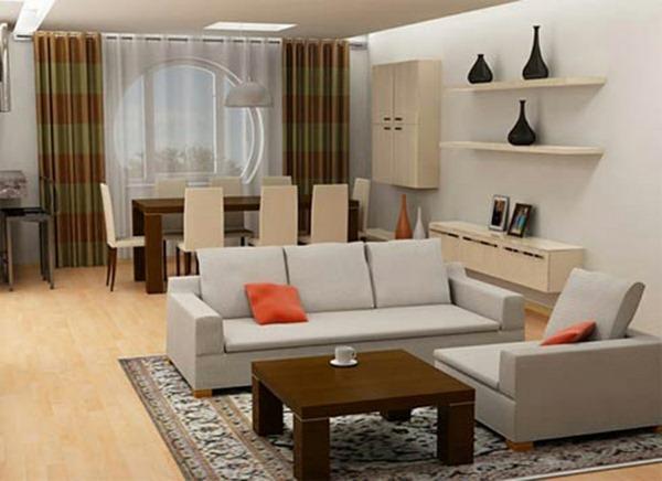 oriental carpet minimalist living room