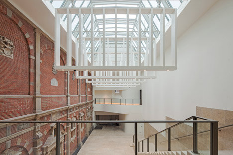 Philips Wing at the Rijksmuseum by Cruz y Ortiz