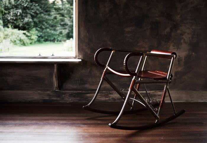 Randonneur Chair rockingchair inspiré du cyclisme par Two Makers