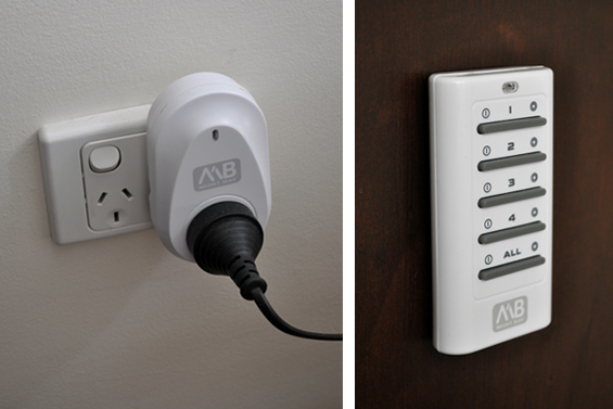Remote Controlled Power Switch for Lamp