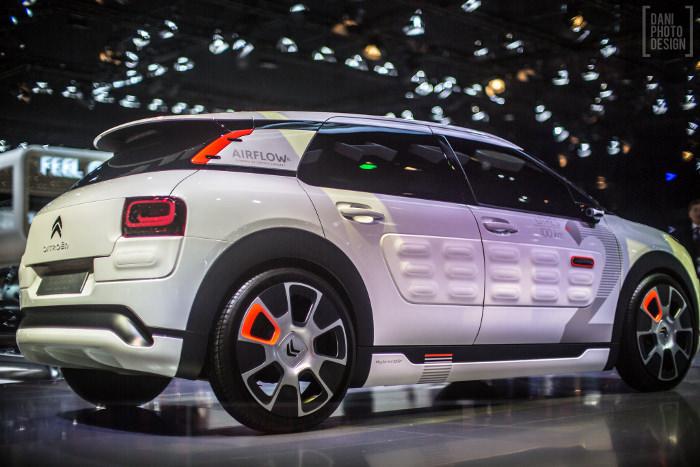 Citroën C4 Cactus Airflow - Retour sur le Mondial de l'automobile 2014 Paris