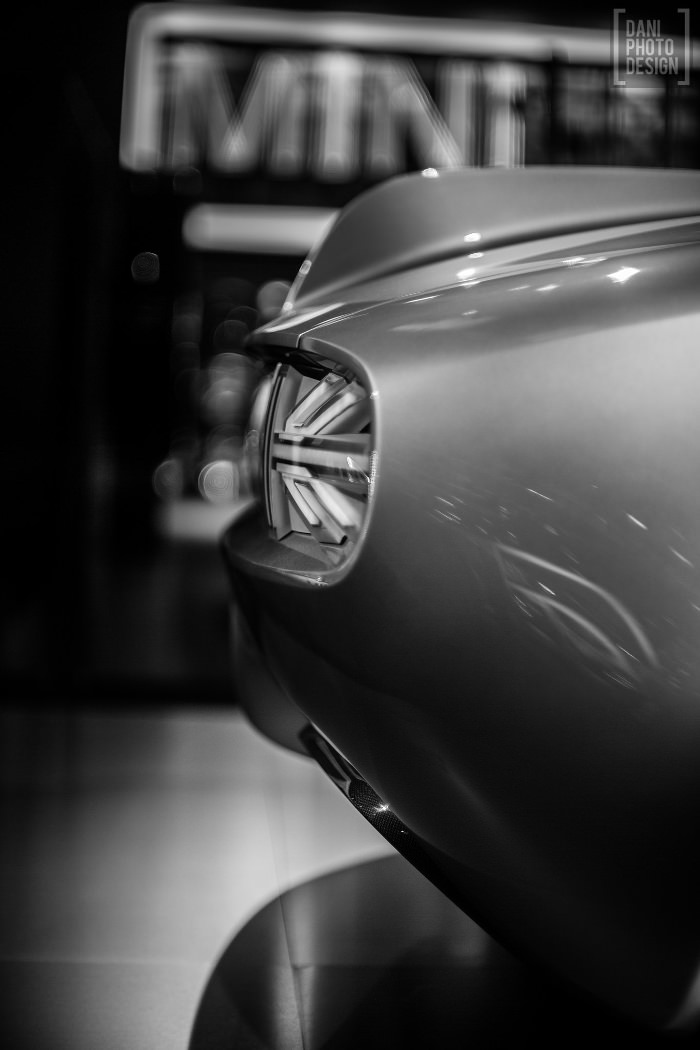 MINI Superleggera Vision Concept - Retour sur le Mondial de l'automobile 2014 Paris