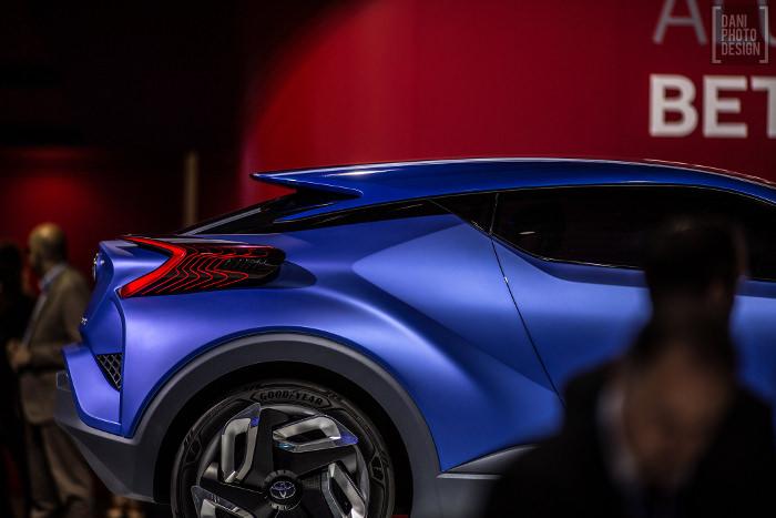 Toyota C-HR Concept - Retour sur le Mondial de l'automobile 2014 Paris